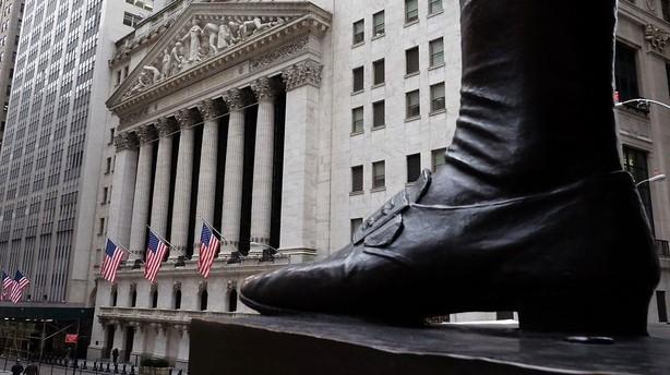 Aktier: Positiv stemning i Europa ser ud til at smitte af p� USA