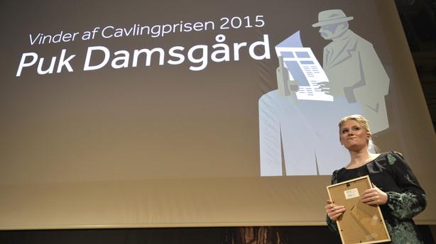 Mellem�stkorrespondent Puk Damsg�rd vinder Cavlingpris