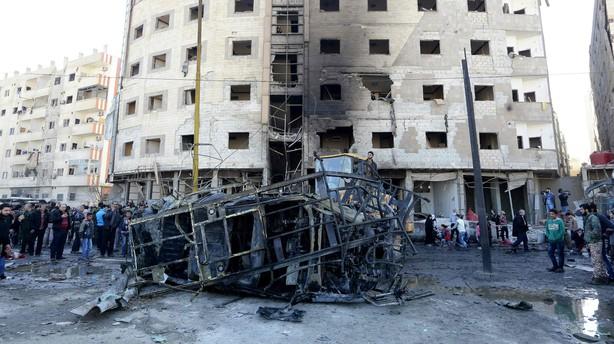 FN-diplomater forts�tter kampen om fred i Syrien