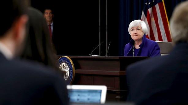 Valuta: Sidel�ns handel op til Yellen-h�ring