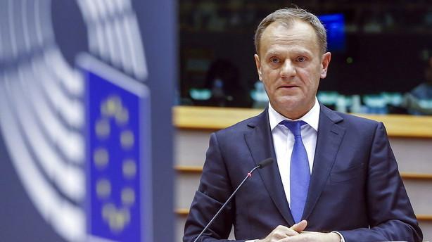 EU vil erkl�re migranternes hovedvej gennem EU lukket