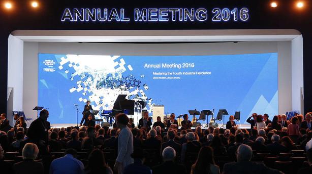 Thomas Bernt: Verdens topchefer ser v�ksttrusler hobe sig op