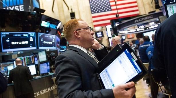 Aktier: Tung start p� kort aktieuge i USA