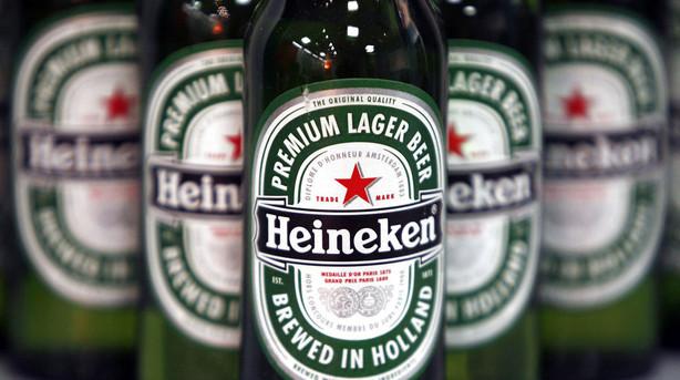 Heineken henter fremgang med v�kst i Amerika, Asien og Europa