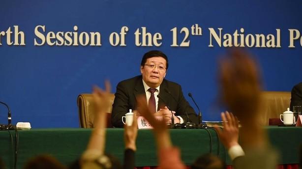 Kina: V�kstforventning s�nkes til 6,5-7 pct i 2016
