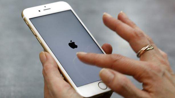 Dommer vil ikke beordre Apple til at l�se iPhone op