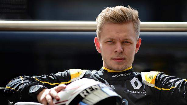 Magnussen: Fedt f�rste l�b trods �rgerlig punktering