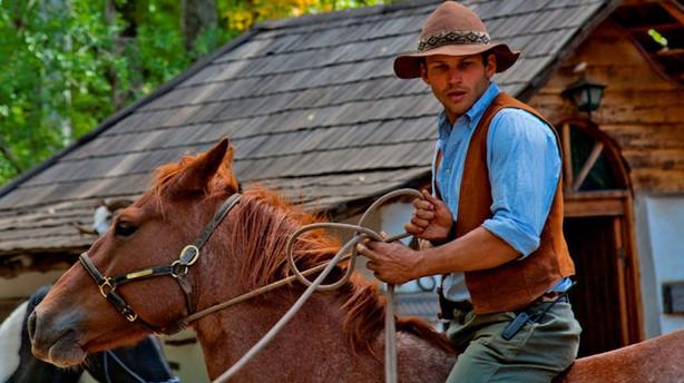 T�mreren der sprang ud som cowboy