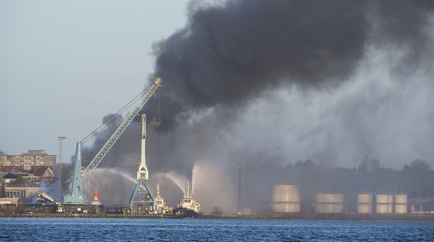 Brand i Fredericia slukket - ingen fare for r�g