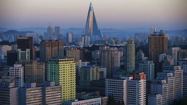 USA og Kina s�ger f�lles front mod Nordkorea efter bombe