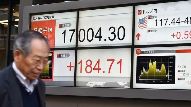 Aktier: Massive kursfald i Tokyo