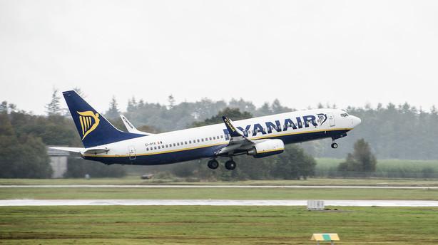 S kr�ver forklaring fra L�kke efter Ryanair-tur