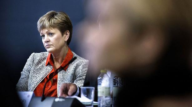 Eva Kjer Hansen tr�kker sig som minister