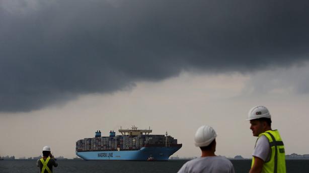 M�rsks overskud dykker med 28 mia kr - olieforretning styrtbl�der