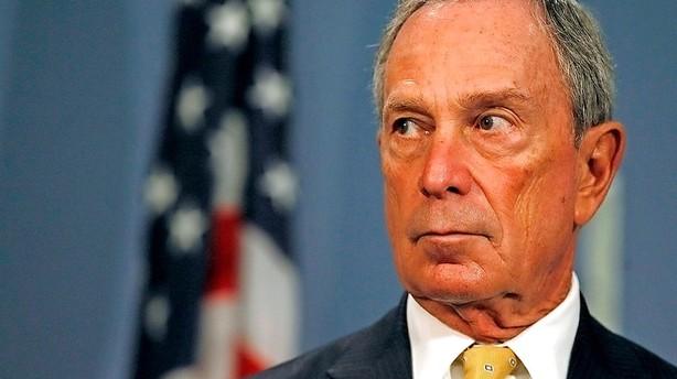 Bloomberg dropper pr�sidentplaner: Frygter Trump-sejr
