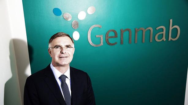 Aktier: Genmab suver�nt i toppen af gr�nt indeks