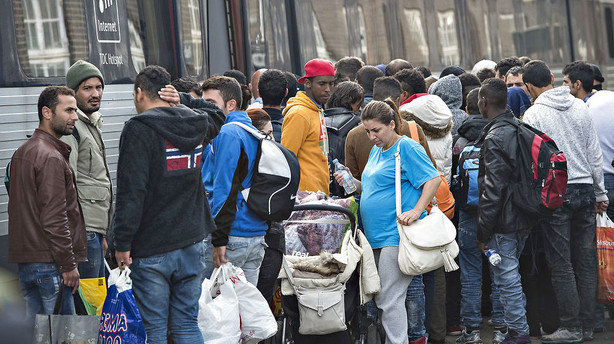 Asyltallet s�tter bundrekord under syv ugers gr�nsekontrol