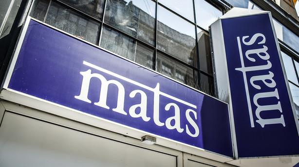 Oms�tningen stiger med 1 pct. i Matas
