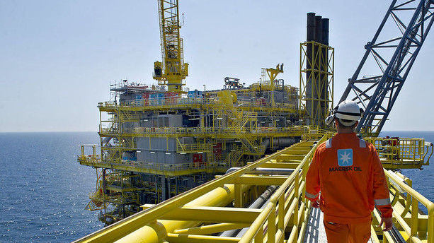 Her er M�rsks forringede oliefelter
