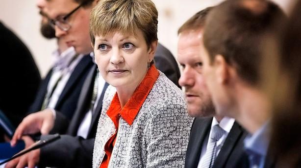 Helle Ib: Voldsom K-reaktion kaster L�kke-regering ud i krise