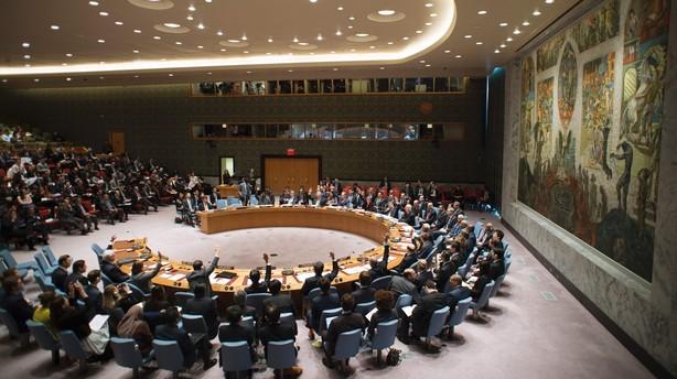 FN s�tter sanktioner ind mod Nordkoreas atomprogram