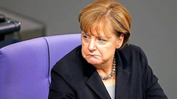 Presset Merkel f�r lidt medvind fra tyske v�ksttal