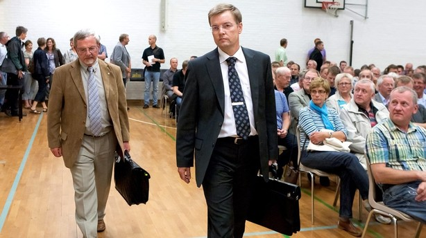 Direkt�r for krakket bank f�r nyt chefjob i sparekasse