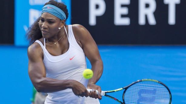 Serena Williams melder sig klar til Australian Open