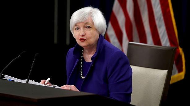 Analytikere: Overraskende h�j inflation l�gger pres p� Fed