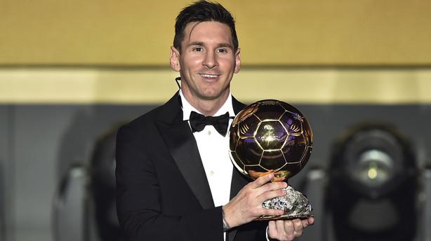 Messi efter femte Ballon d'Or: Mere end jeg dr�mte om