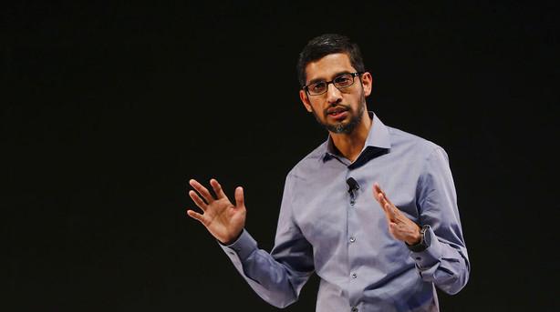 Rekordl�n: Googles topchef modtager 199 mio. dollar i aktier