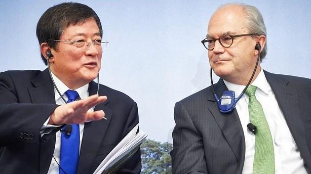 Kinesiske selskaber p� heftigt udenlandsk opk�bstogt