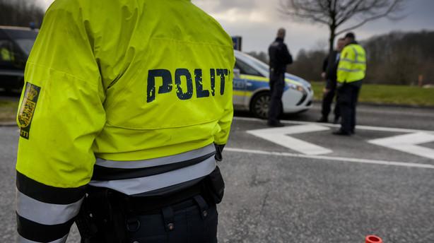 Politiet: Vi foretager kun stikpr�vekontrol ved gr�nsen