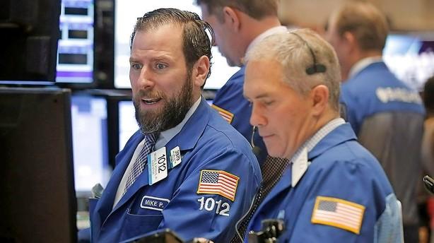 Aktier: Oliehop drejede Wall Street rundt til plus