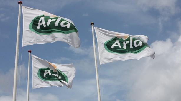 Arla indg�r samarbejde med amerikansk k�mpemejeri