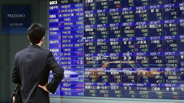 Aktier: St�rkt blandet afslutning p� februar i Asien