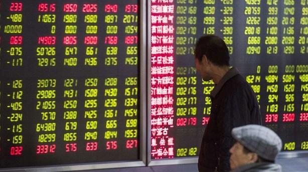 Aktier: Sen vending p� Wall Street smitter af p� Asien