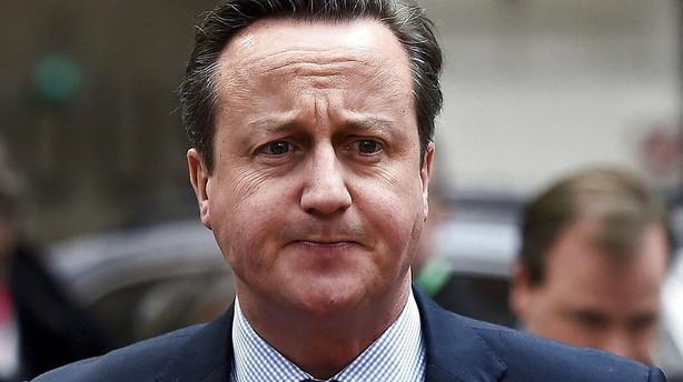 Strid om Camerons EU-reform tr�kker topm�de i langdrag