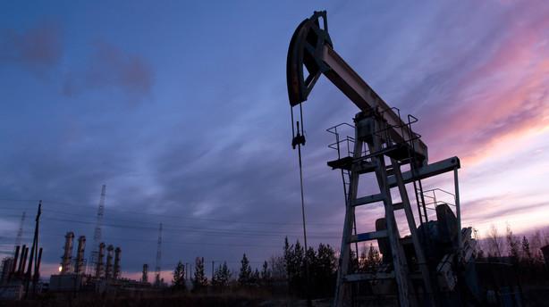R�varer: Olie igen under 40 dollar per t�nde