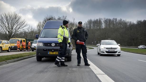 Tyskland: Gr�nsekontroller truer Schengen-aftale