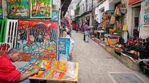 Luksus p� swahili-man�r i Zanzibar City