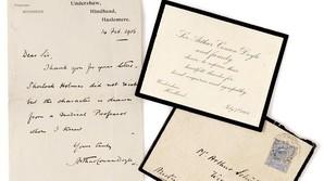 Brev til Sherlock Holmes gav 20.000 kr ekstra i h�nden