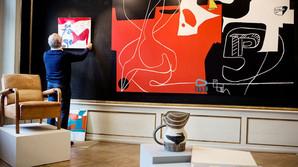 Stjernearkitektens kunstsamling ryger p� auktion