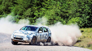 At t�ve en Land Rover godt igennem