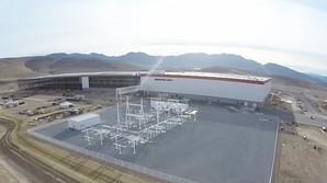 Drone-billeder af Teslas giga-fabrik til 5 mia. dollar