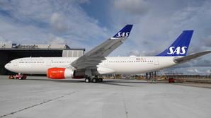 SAS pr�senterer nyt fly til 1,7 mia. kr.