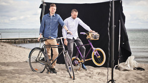 Pusher pimpede cykler til business-folket