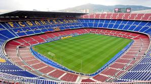 Bes�g Barcelonas h�jhellige  fodboldkatedral
