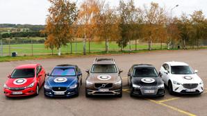 En af disse fem biler bliver �rets Bil