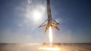Elon Musk afsl�rer fotos af raket-landing p� drone-skib